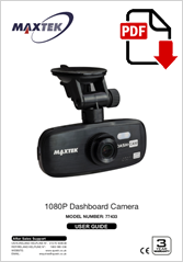 77433 - 1080P Dashboard Camera HR-510