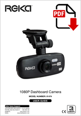 81474 - 1080P Dashboard Camera HR510