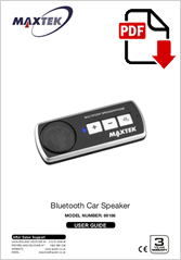 69166 - Bluetooth Car Speaker QC-128