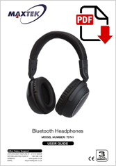 73741 - Bluetooth Headphones BT-005