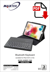 72586 - BT Ipad Keyboard
