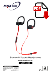 77291 - Bluetooth Sports Headphones I6