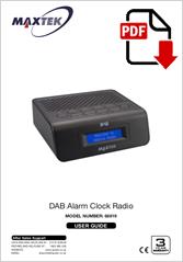68819 - DAB Alarm Clock Radio DB-316