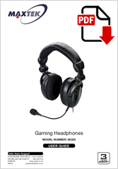 68328 - Gaming Headphones HG-363