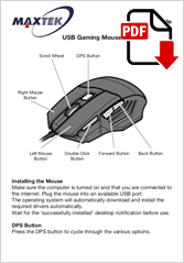 74276 - Gaming Mouse G2M