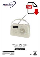 77429 - Vintage DAB Radio DB-321