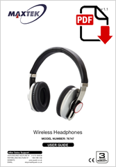 76747 - Wireless Headphones SBT-02