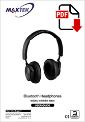 69840 - Bluetooth Headphones