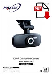 74275 - 1080P Dashboard Camera