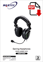74579 - Gaming Headphones