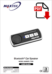 77320 - Bluetooth® Car Speaker