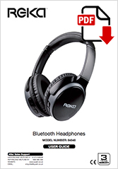 84548 - Bluetooth Headphones