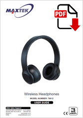 78612 - Bluetooth Headphones