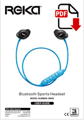 85935 - Bluetooth Sports Headphones