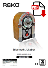 87491 - Retro Bluetooth Jukebox