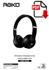 84548 - Reka Wireless Bluetooth Headphones