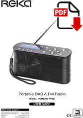 16923 - Portable DAB Radio