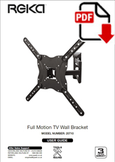 20710 - Full Motion TV Wall Bracket