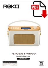 21006 - Retro DAB Radio