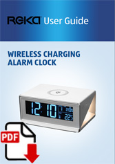708558 - Wireless Charging Alarm Clock