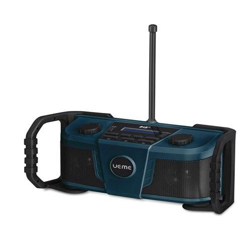 UEME Rugged DAB/FM Radio With Bluetooth and DAB+ Blue