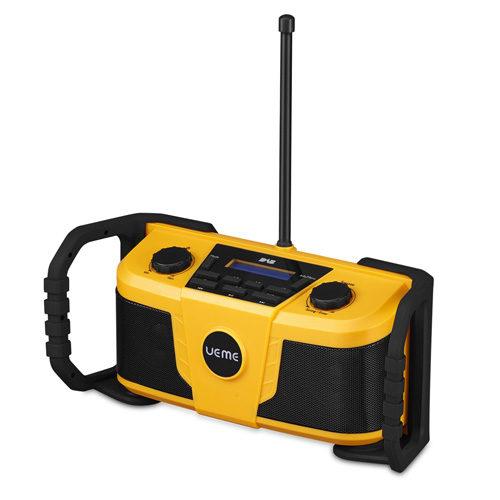 UEME Rugged DAB/FM Radio With Bluetooth and DAB+ Yellow
