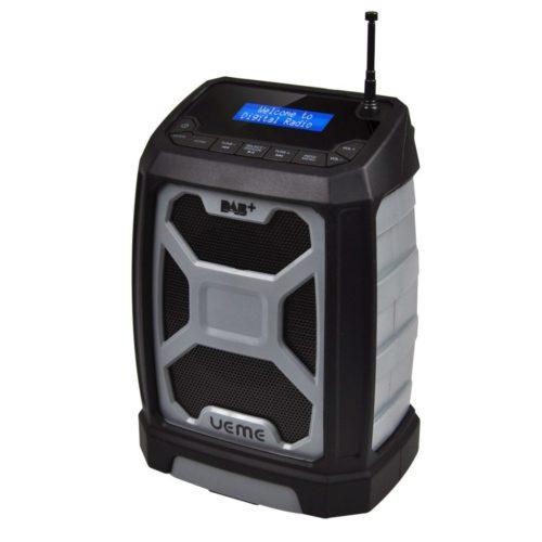 UEME Rugged DAB/FM Radio With Bluetooth and DAB+ License Grey