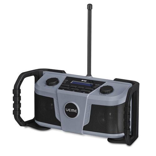 UEME Rugged DAB/FM Radio With Bluetooth and DAB+ Grey